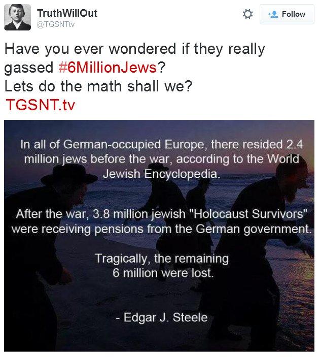 6 million killed