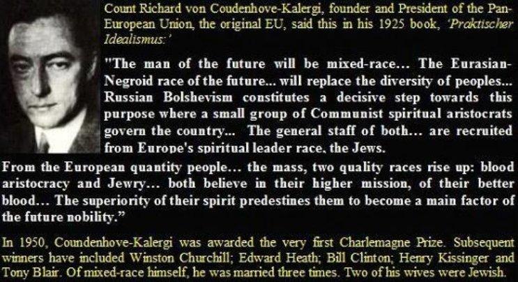 Coudenhove-Kalergi 1925 quote