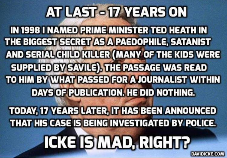 Icke on Ted Heath