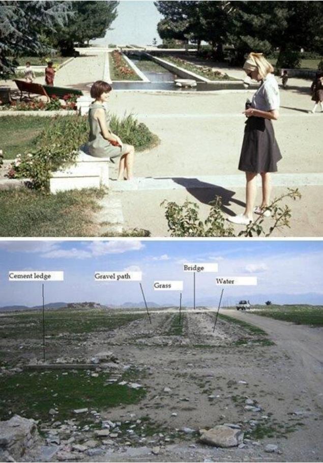 Afghanistan 1970vs2000