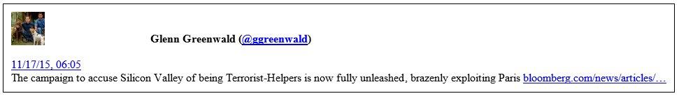 Greenwald on encryption