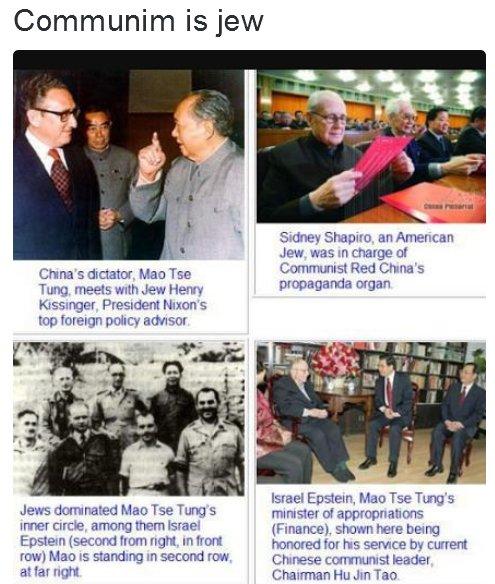 Mao Tse Tung with Jewish leaders