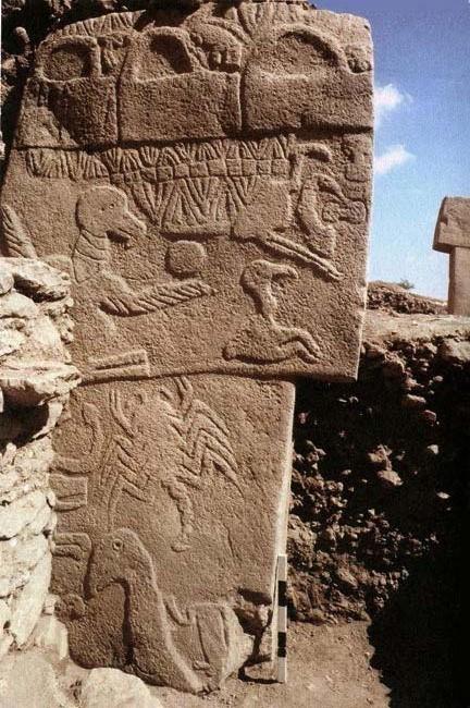 Gobekli Tepe stela