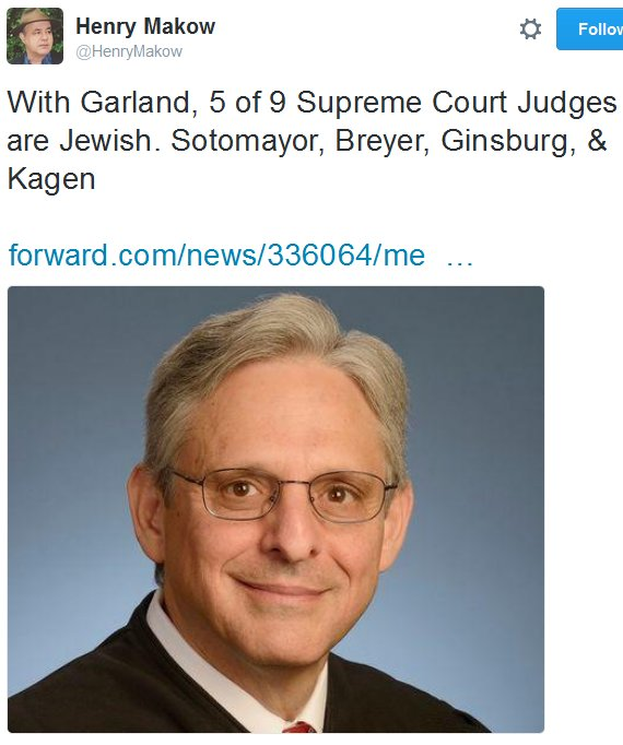 5 Scotus judges Jewish