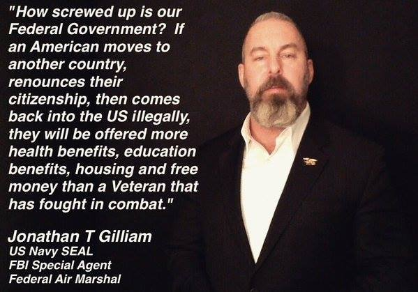 Benefits for illegals greater than combat veterans